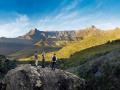 Ukhahlamba Drakensberg Amphitheatre hiking trail.