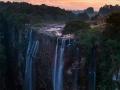 Magwa Falls Near Lusikisiki Wild Coast, South Africa.