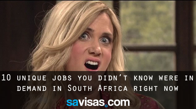 10 jobs in demand in South Africa