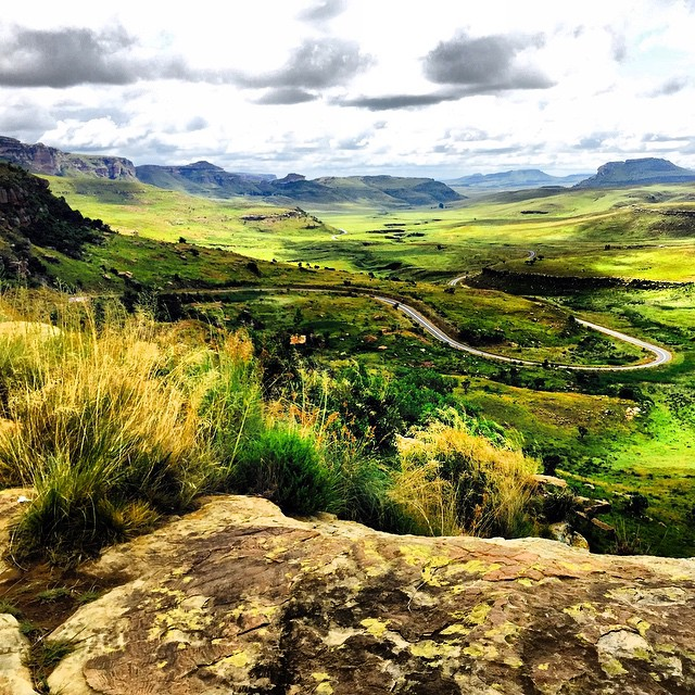 15. Just a stone's throw from Clarens is the Golden Gate Highlands National Park. The Park's two day Rhebok trail will have hikers navigating their way through some of South Africa's most spectacular mountains, rock-pools and ravines. The hike is considered moderately difficult and shouldn't be attempted without an experienced guide. Take note that the region can become rather misty and cold, so be sure to pack accordingly.