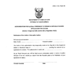 Letter of Good Cause Application